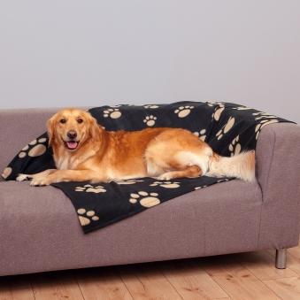 Hundekissen / Hundedecke Barney TRIXE 150x100cm schwarz Bild 2