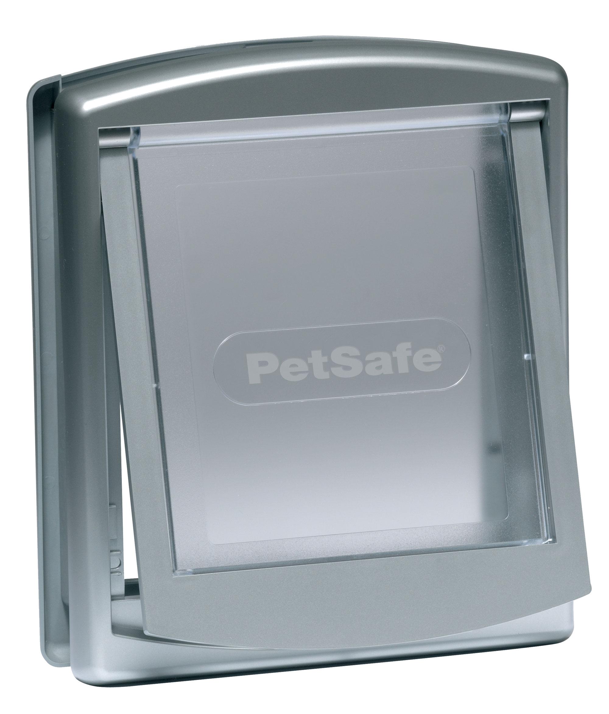 Hundetür / Hundeklappe PetSafe Staywell Original groß 456x386mm grau Bild 1