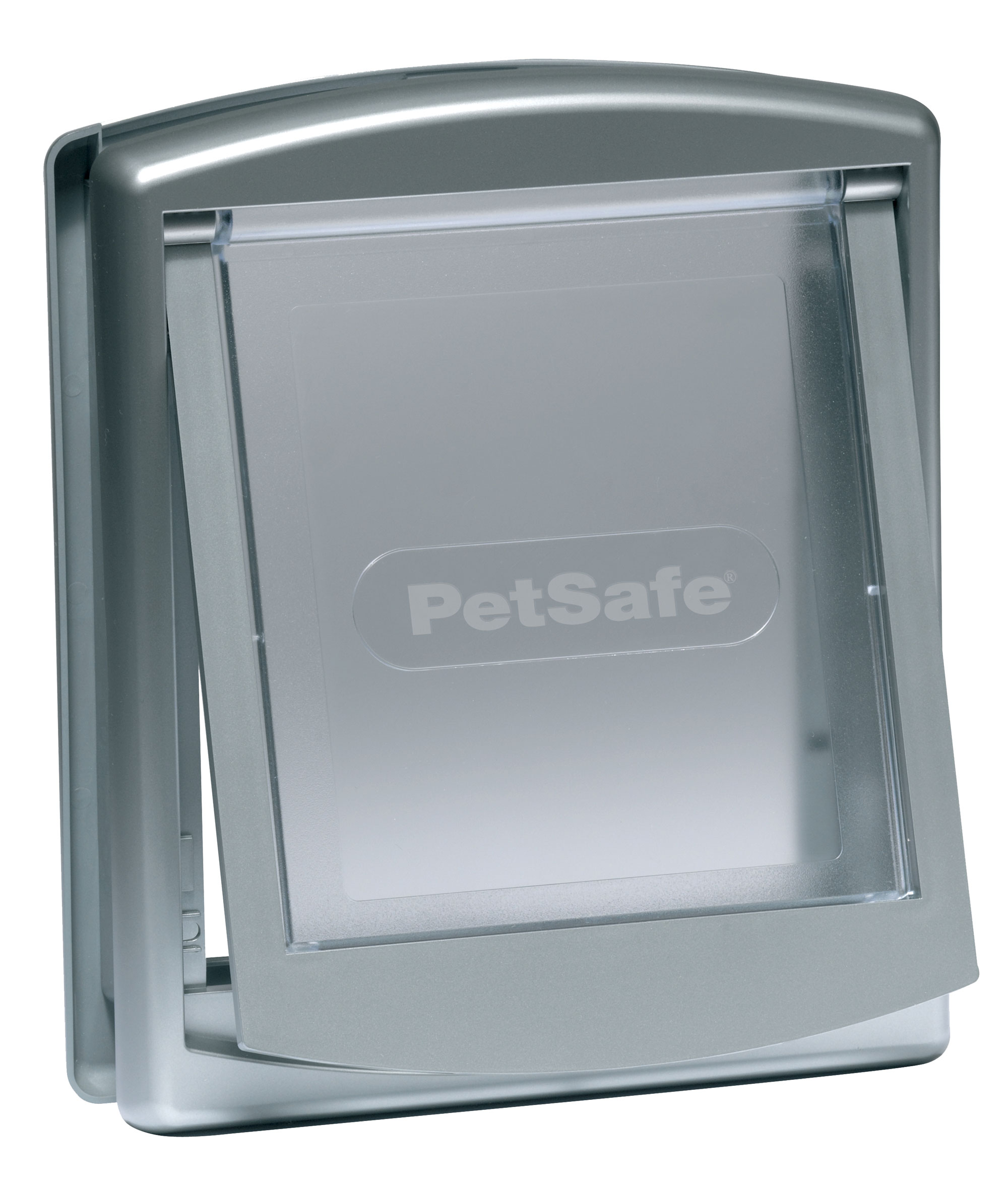 Hundetür / Hundeklappe PetSafe Staywell Original mittel 352x294mm grau Bild 1