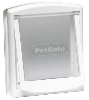 Hundetür / Hundeklappe PetSafe Staywell Original mittel 352x294mm weiß Bild 1