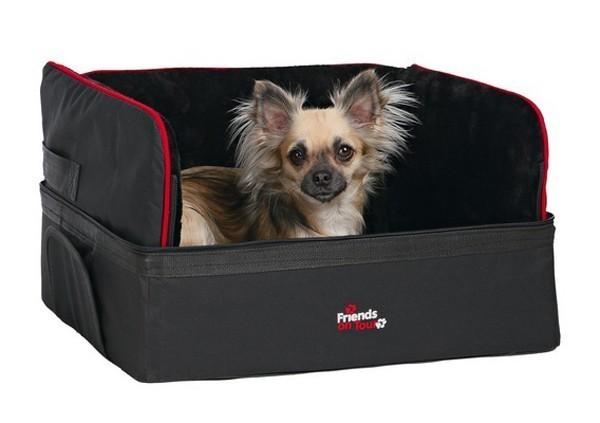 Autositz für Hunde TRIXIE 45 x 38 x 37 cm schwarz Bild 2