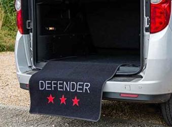 Kofferraum - Schutz Matte 100x155cm schwarz Bild 2