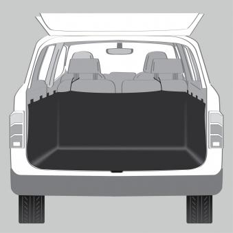 Kofferraumdecke TRIXIE 2,30 x 1,10 x 0,60 m schwarz Bild 2