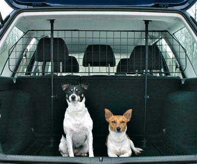Hundegitter mit Gitterelement TRIXIE Bild 1