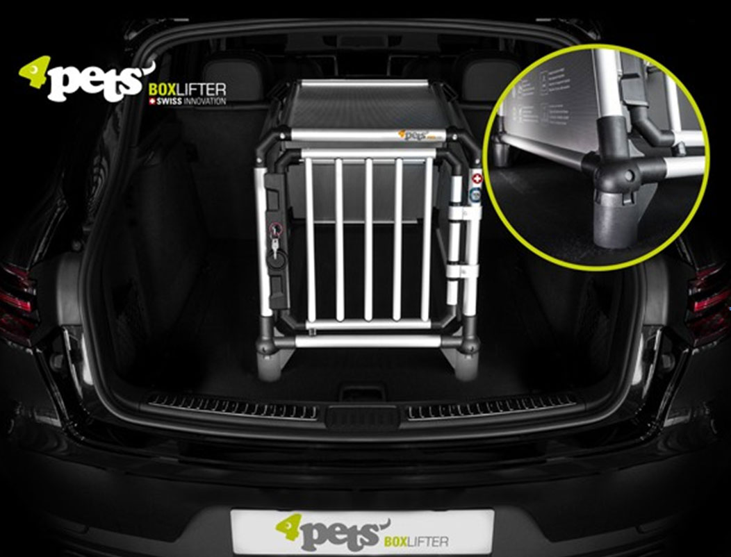 dogboxen lifter f r 4pets hundebox bei. Black Bedroom Furniture Sets. Home Design Ideas