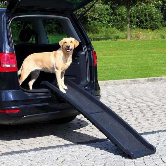 Einstiegshilfe Hunderampe klappbar Petwalk TRIXIE 40x156cm Bild 1
