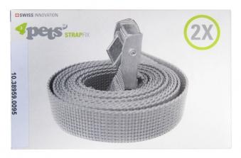 Zurrgurtset 4pets Strap Fix für Hundebox