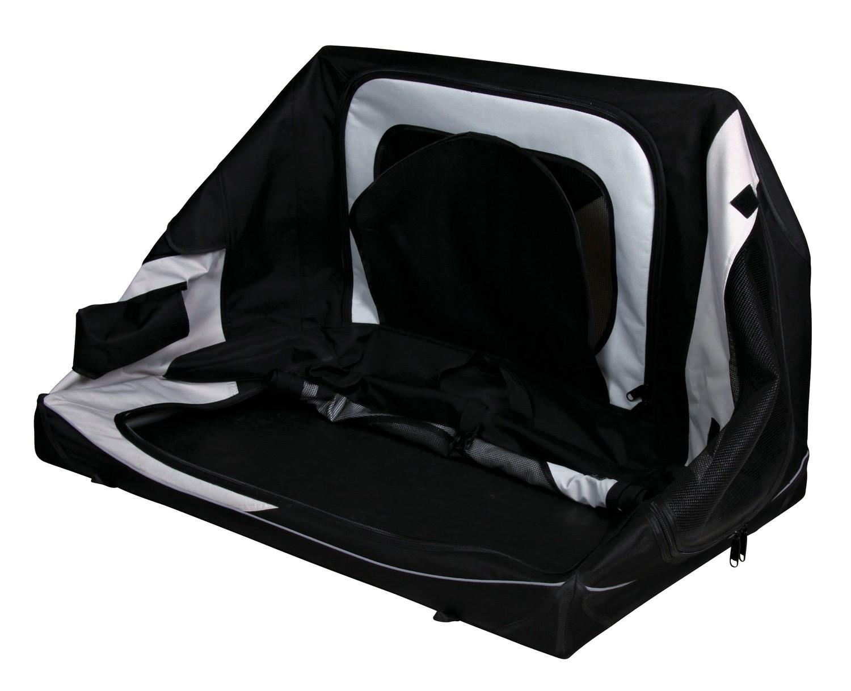 Vario Transportbox Gr. M-L TRIXIE schwarz/grau 91x58x61cm Bild 3