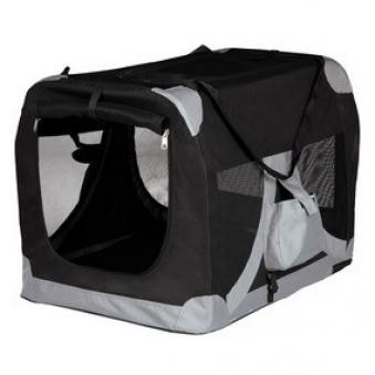 Transportbox faltbar Tcamp de Luxe TRIXIE Größe M 50x50x70cm Bild 1