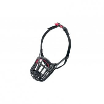 Maulkorb Kunststoff mit Kllckverschluss Gr. 4 schwarz Bild 1
