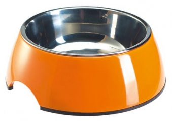Trink- und Fressnapf HUNTER Melamin orange 350 ml Bild 1