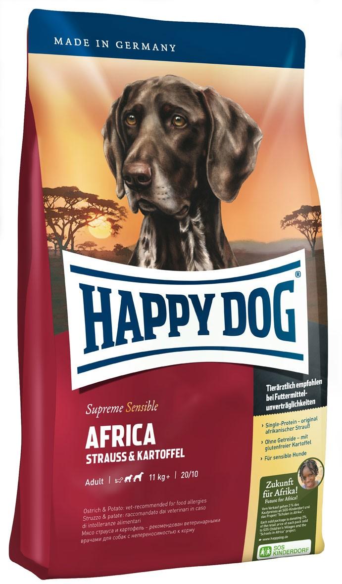 Hundefutter Trockenfutter Happy Dog Supreme Africa 12,5kg Getreidefrei Bild 1