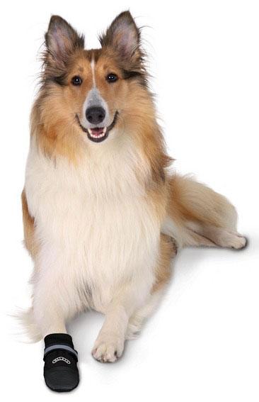 Hundeschutzstiefel Walker Care Comfortl TRIXIE Größe M Bild 2