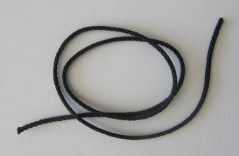 Pfeifenband Nylon 3 mm  1 m lang