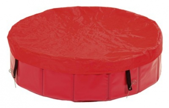 Schutzabdeckung für Hundepool / Doggy Pool Karlie 120 x 13 cm rot Bild 1