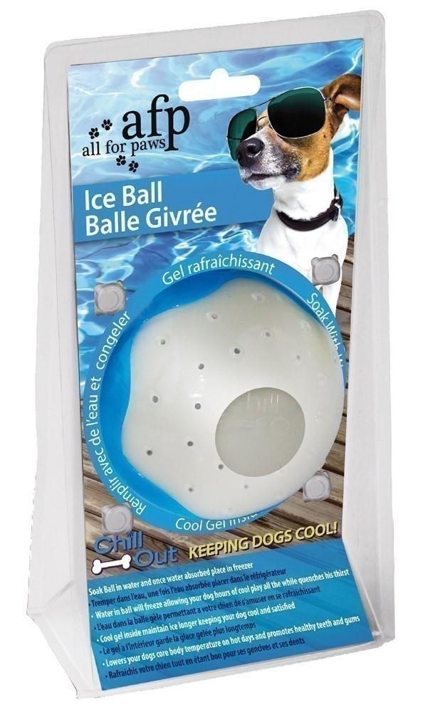 Hundespielzeug Chill Out Eisball groß Ø8cm Bild 1