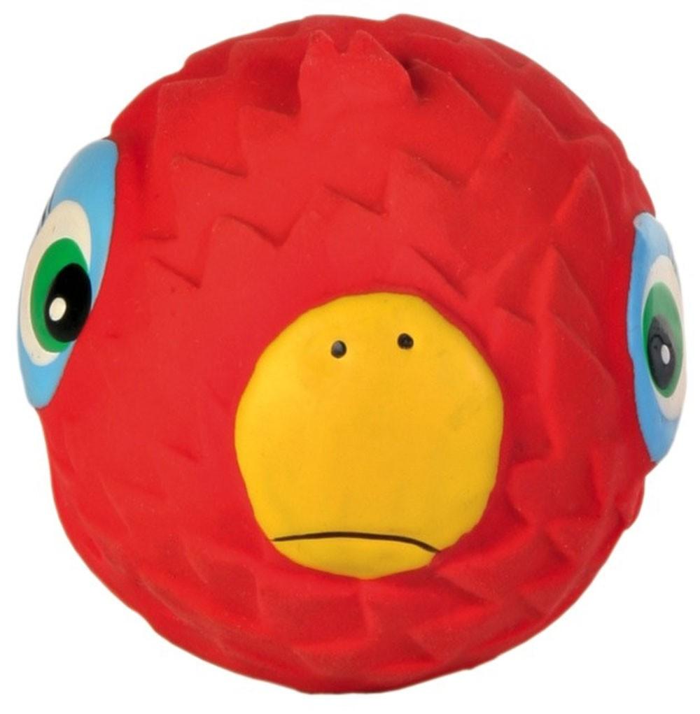 Hundespielzeug Spielball Faces Latex TRIXIE Ø 6 cm Bild 1