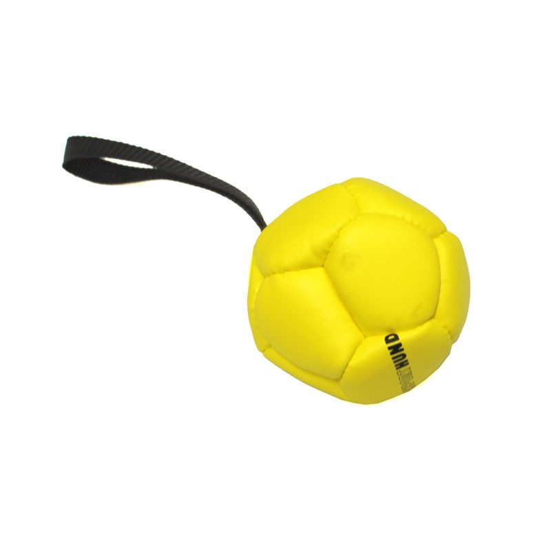 Hundespielzeug Trainingsball mit Handschlaufe Ø120mm Bild 1