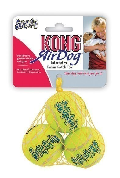 AirDog Kong Squeaker Tennis Balls Größe XS 3 St. Bild 1