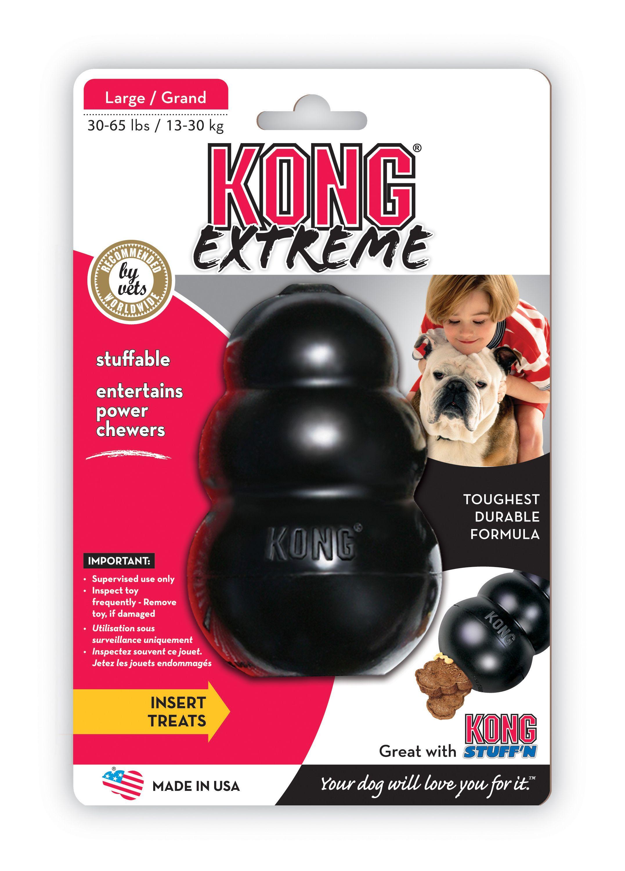 Kong Extreme Hundespielzeug Größe M schwarz Bild 1
