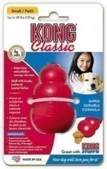 Kong Original Hundespielzeug Größe M rot Bild 1