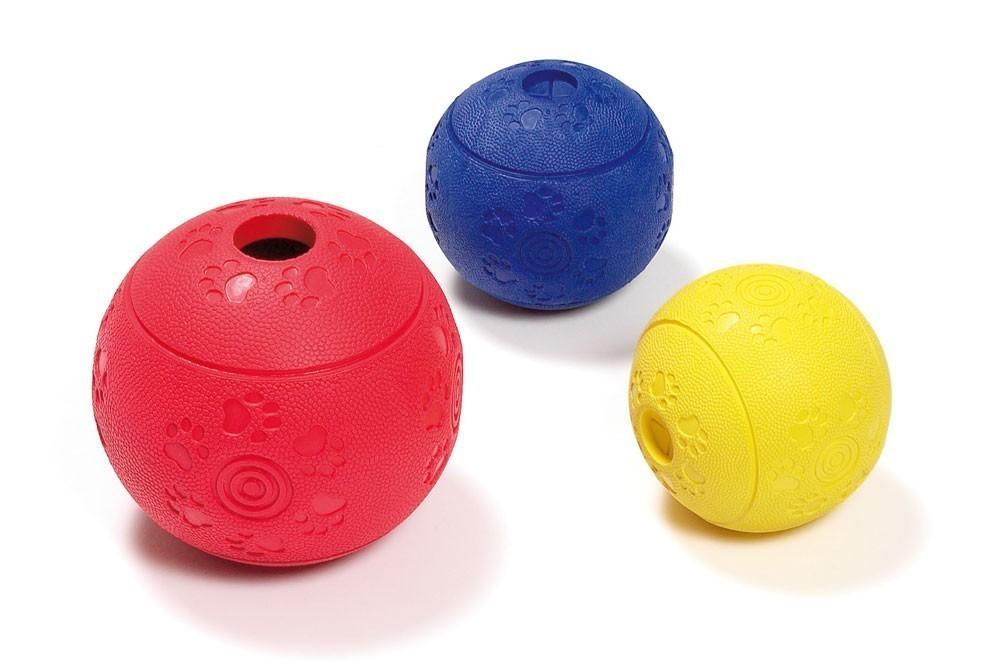 Hundespielzeug Karlie Futterball Ruffus Vanille-Aroma Ø11cm Bild 2