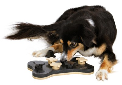 Hundespielzeug Trixie Dog Activity Game Bone Bild 3