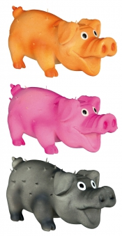 Hundespielzeug Borstenschwein Latex TRIXIE 10cm Bild 2