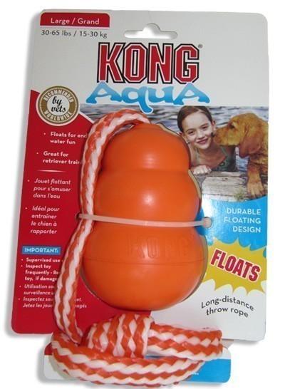 Cool Kong Hundespielzeug Größe M schwimmfähig orange Bild 1