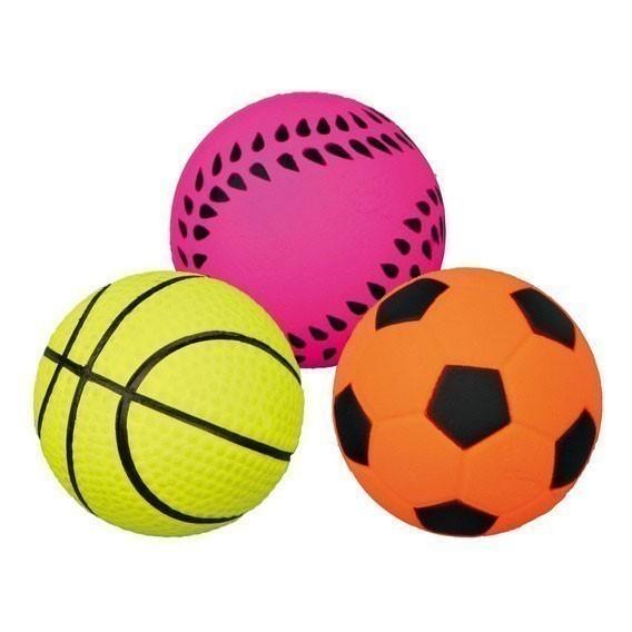 Hundespielzeug Ball Moosgummi TRIXIE Ø6cm Bild 2