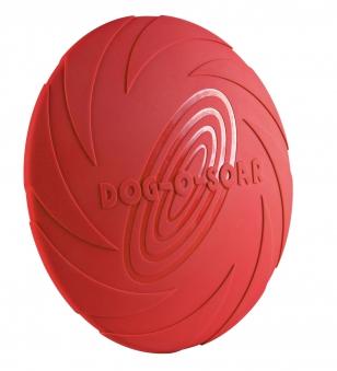 Hundespielzeug Doggy Disc Naturgummi TRIXIE schwimmend 22 cm Bild 1