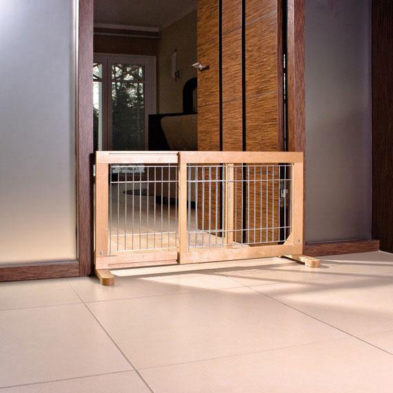 Absperrgitter für Hunde TRIXIE Birke 63-108x50x31cm Bild 1