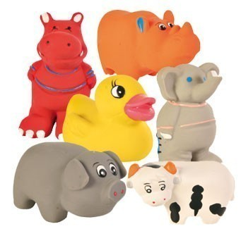 Welpenspielzeug Baby-Zoo Latex TRIXIE 9cm Bild 1
