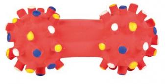 Welpenspielzeug Mini-Hantel Latex TRIXIE 10cm Bild 1