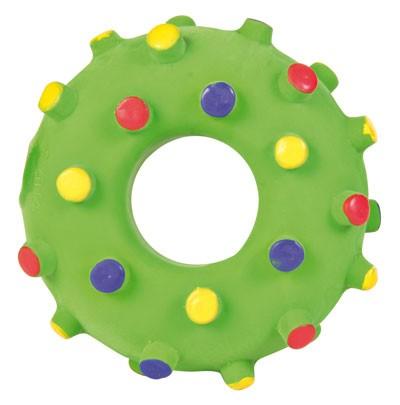 Welpenspielzeug Mini-Ring Latex TRIXIE Ø 8cm Bild 1