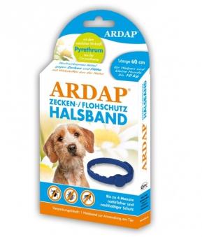 Zecken- und Flohhalsband Ardap® kleine Hunde bis 10 kg Ø60cm Bild 1