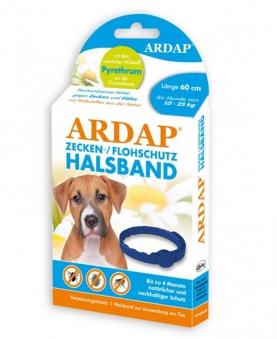 Zecken- und Flohhalsband Ardap® mittlere Hunde 10-25 kg Ø60cm Bild 1