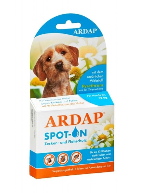 Zecken- und Flohschutz Ardap® Spot on kleine Hunde 3x1,0ml Bild 1