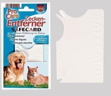 Zeckenkarte Safecard TRIXIE 8x 5 cm Bild 1